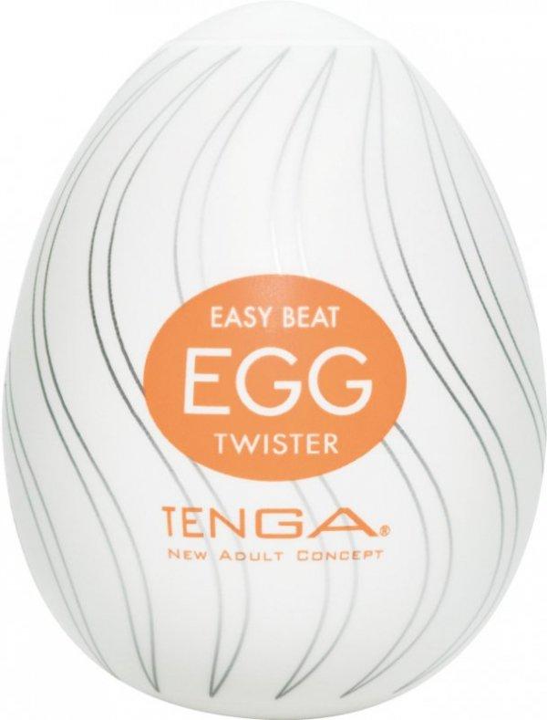 Tenga Egg Twister - Jajka do masturbacji Wir (6 szt.)