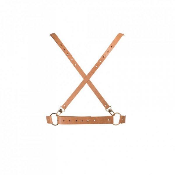 Uprząż - Bijoux Indiscrets Maze X Harness Brown