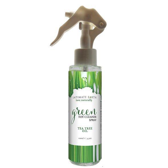 Spray czyszczący akcesoria - Intimate Earth Green Tea Toycleaner Spray 125 ml