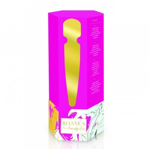 Masażer - RS Essentials - Bella Mini Body Wand French Rose