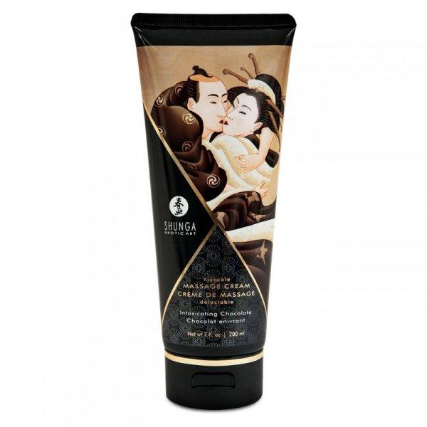 Krem do masażu - Shunga Massage Cream Chocolate 200 ml