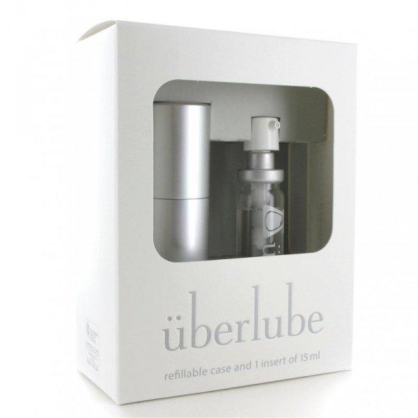 Środek nawilżający - Uberlube Silicone Lubricant Good-To-Go Silver