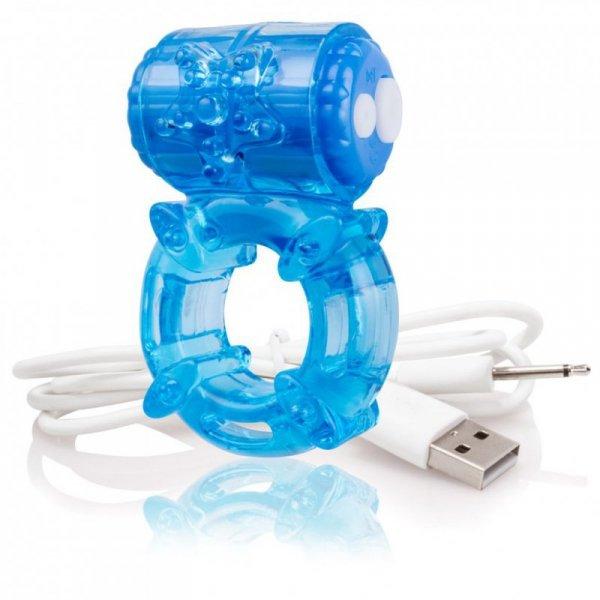 Pierścien na penisa - The Screaming O Charged Big O Blue