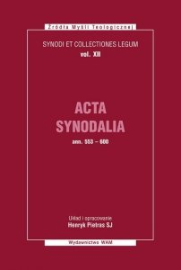 Acta Synodalia od 553 do 600 roku