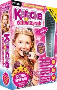 Karaoke dla dziewczynek (nowa edycja) - z mikrofonem (PC-DVD)