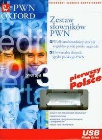 Uniwersalny słownik języka polskiego  Wielki słownik angielsko-polski polsko-angielski Pendrive