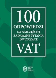 100 odpowiedzi na najczęściej zadawane pytania dotyczące VAT