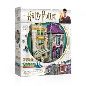 Wrebbit 3D Puzzle Harry Potter Madam Malkin's & Florean Fortecsue's Ice Cream 290
