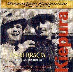 Jan i Władysław (Ladis) Kiepura. Dwaj bracia