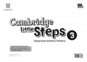 Cambridge Little Steps 3 Classroom Activity Posters