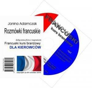 Francuski dla kierowców. Słownictwo branżowe na CD MP3