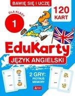 Bawię się i uczę. EduKarty. Język angielski. Dla klasy 1