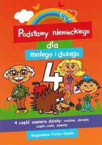 Podstawy niemieckiego dla małego i dużego 4. Książeczka do nauki słówek dla każdego