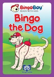 BINGO THE DOG. Lektura do nauki samodzielnego czytania po angielsku dla dzieci