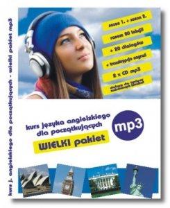 Angielski kurs dla początkujących na MP3. Kurs dla początkujących. Wielki pakiet