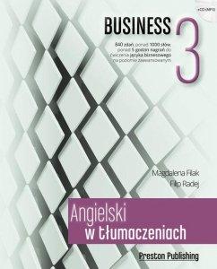 Angielski w tłumaczeniach 3 Business. Poziom zaawansowany z płytą CD