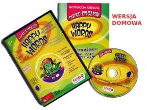 HAPPY WORDS program do nauki języka angielskiego w domu (5-10 lat)