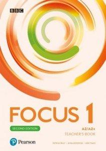 Focus Second Edition 1. Teacher's Book plus płyty audio, DVD-ROM i kod dostępu do Digital Resources
