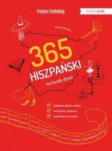 Hiszpański 365 na każdy dzień (poziom A2-B2)