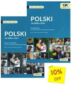 Polski na dobry start. Podręcznik z płytą CD + Zeszyt ćwiczeń