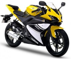 2008 Yamaha YZF-R125 COMPETITION YELLOW