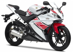 2012 Yamaha R-125 WHITE ANNIVERSARY