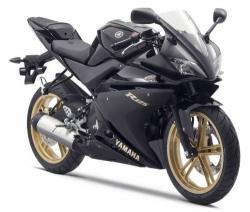2010 Yamaha YZF-R125 MAT BLACK