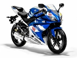 2009 Yamaha YZF-R125 DEEP PURPLISH BLUE METALLIC R