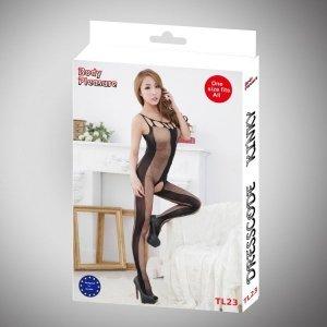 Bielizna damska body czarne sexy lingerie set luxury gift box