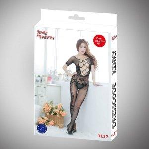 Bielizna damska czarne body sexy lingerie set luxury gift box
