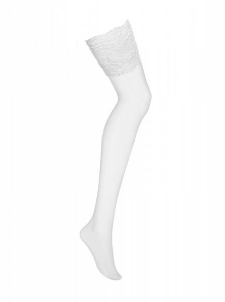 Bielizna 810 STO2 pończochy białe L/XL