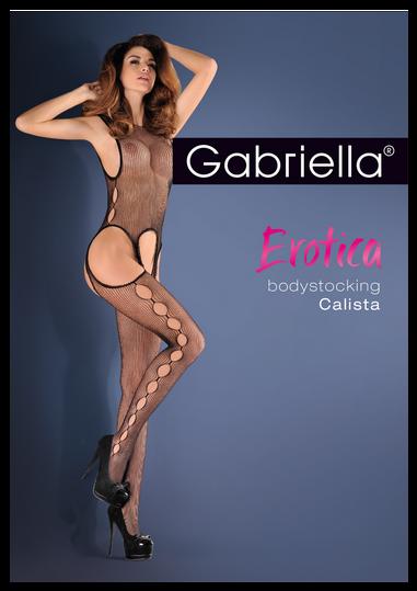 Bodystocking Calista Czerwone M/L