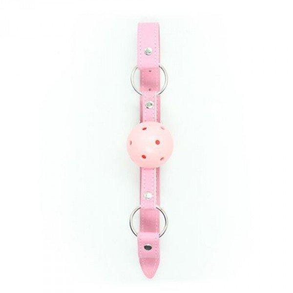 Knebel-Breathable Ball Gag (rosa)