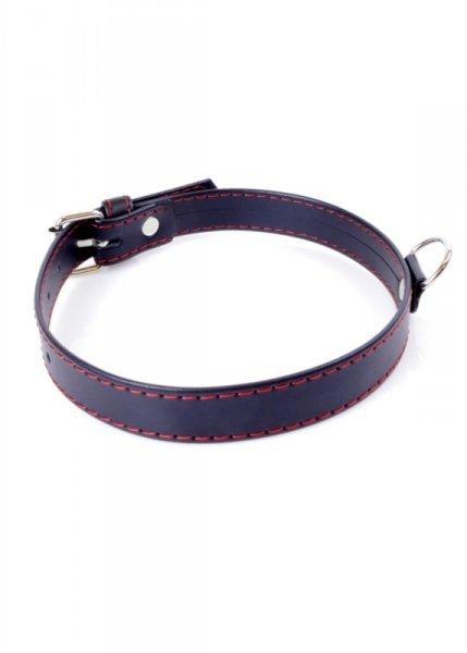 Fetish Boss Series Collar  2cm Red Line