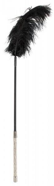Długie piórko Bad Kitty z błyszczącymi kamykami