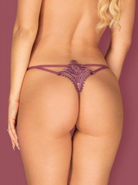 Bielizna-Luiza stringi jagodowe L/XL