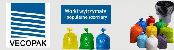 Worki na śmieci LDPE 60L 50 szt. niebieskie EP