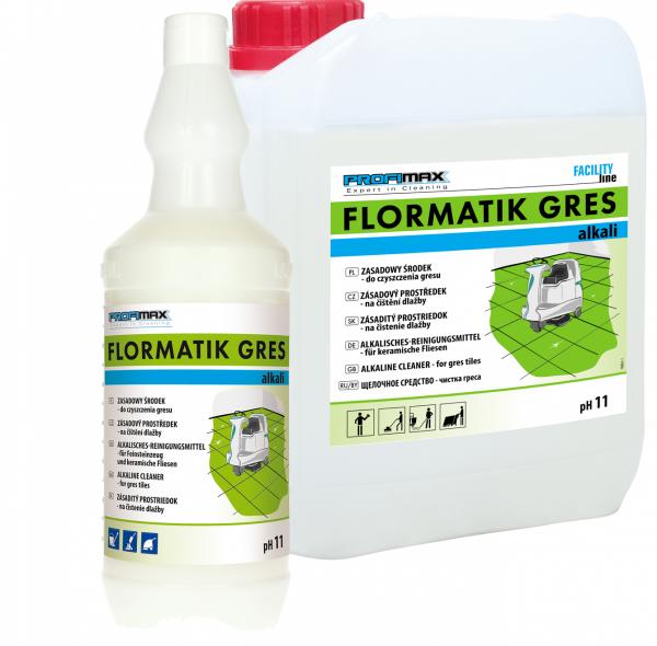 FLORMATIK GRES ALKALI - zasadowy środek do czyszczenia gresu 1l