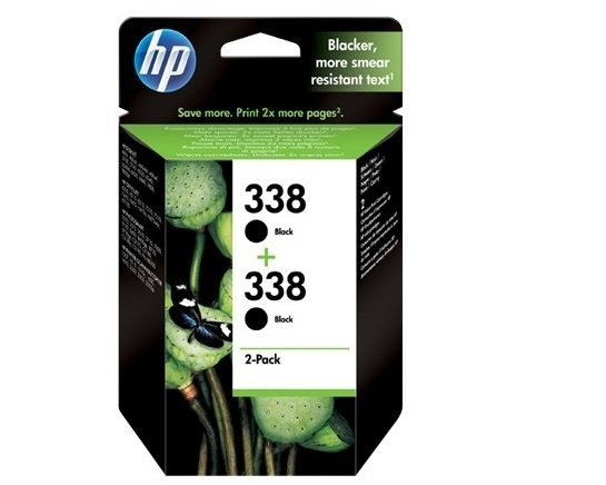 HP Głowica nr 338 CB331EE Black 2pack 2x11ml