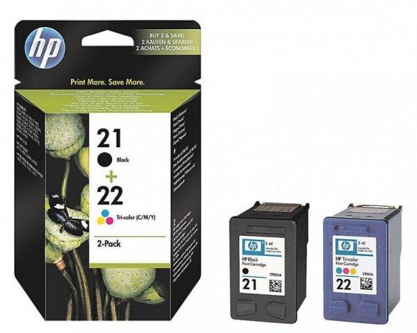 HP Tusz nr 21+22 SD367AE 2pack
