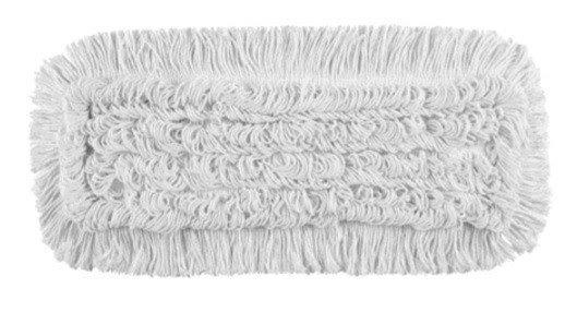 Mop Tes bawełna biała linia premium    50cm Pętelkowo – Cięty
