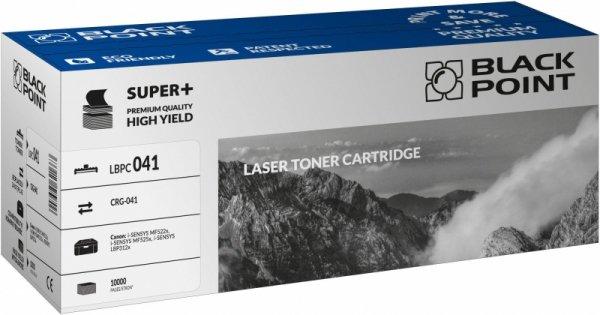 Black Point toner LBPC041 zastępuje Canon CRG-041, Black, 10000 stron.