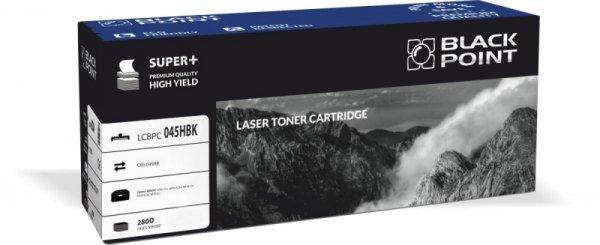Black Point toner LCBPC045HBK zastępuje Canon CRG-045HB black