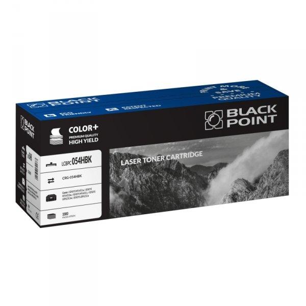 Black Point toner LCBPC054HBK zastępuje Canon CRG-054HBK black
