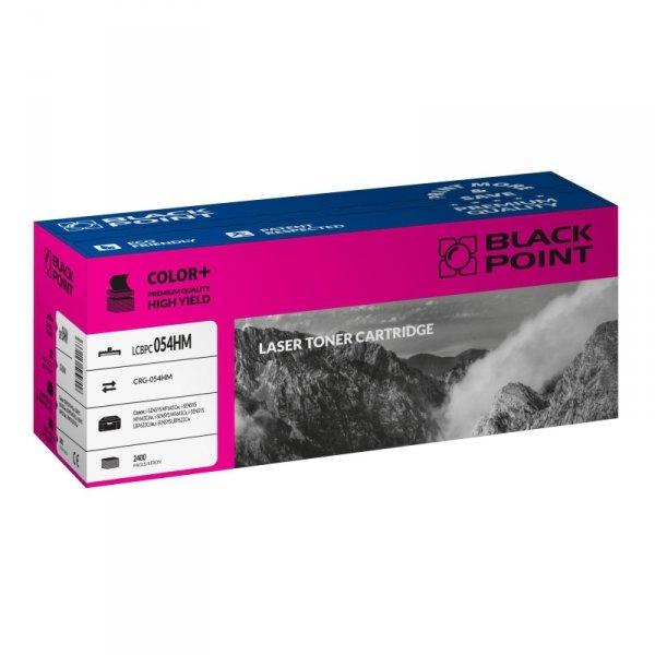 Black Point toner LCBPC054HM zastępuje Canon CRG-054HM magenta
