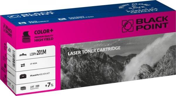 Black Point toner LCBPH201M zastępuje HP CF403A, czerwony
