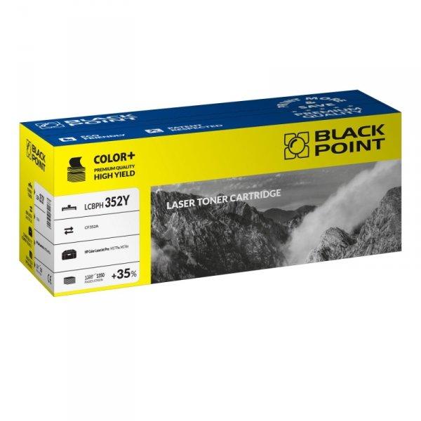 Black Point toner LCBPH352Y zastępuje HP CF352A, żółty