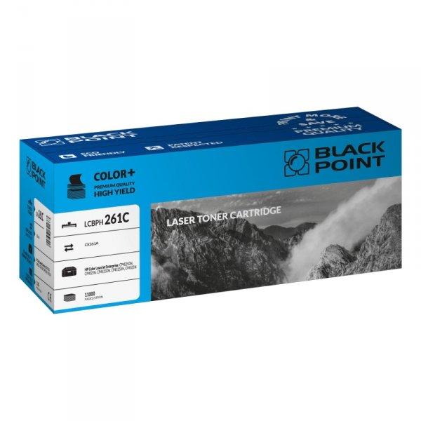 Black Point toner LCBPH261C zastępuje HP CE261A, niebieski