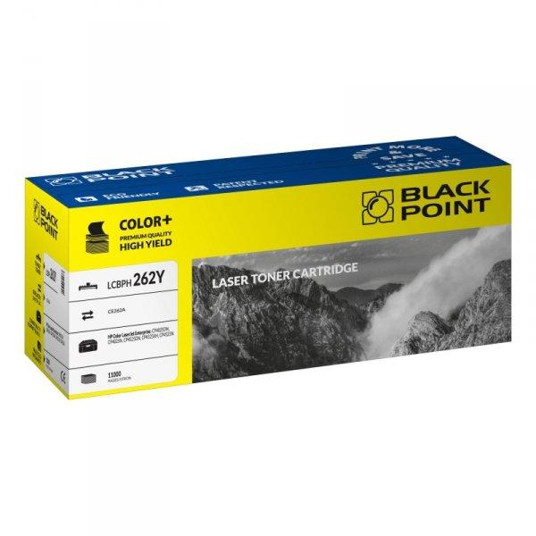 Black Point toner LCBPH262Y zastępuje HP CE262A, żółty