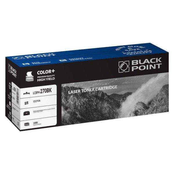 Black Point toner LCBPH270BK zastępuje HP CE270A, czarny